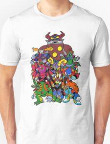 Mega Man X 2 Bosses T-Shirt