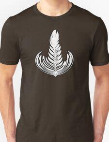 Black outlined Rosetta T-Shirt