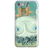cute zombie in the water iPhone Case/Skin