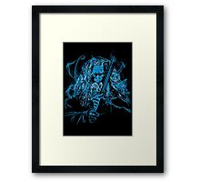 The Grey Pilgrim Framed Print