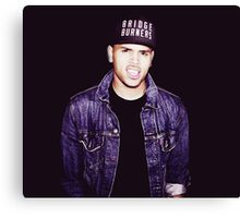 Chris Brown  Canvas Print