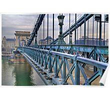 Széchenyi lánchíd (bridge) Poster