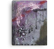 Glitter Drip Canvas Print