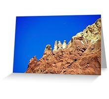 Beautiful scenery in New Mexico Greeting Card