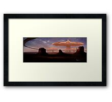 Mesa Port Framed Print