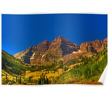 Maroon Bells HDR Poster