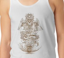 Gold Rider Halloween Tank Top