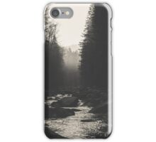 Morning river iPhone Case/Skin