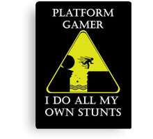 Platform Gamer Canvas Print