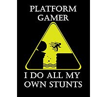 Platform Gamer Photographic Print