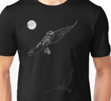 Full Moon Night Owl Unisex T-Shirt