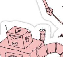 Yoshimi battles the pink robots Sticker