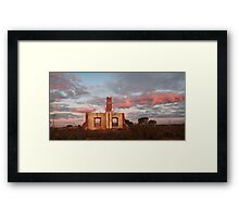 Last Remains Framed Print