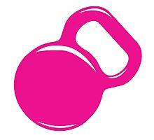 Kettlebell Workout Gym Exercise Photographic Print