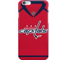 Washington Capitals Home Jersey iPhone Case/Skin