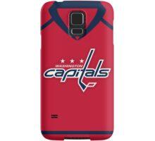 Washington Capitals Home Jersey Samsung Galaxy Case/Skin