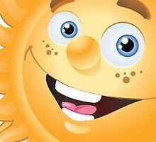 Funny sun by Vitalia