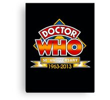 doctor who 50 th 2 Canvas Print