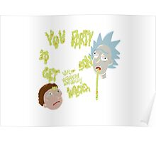 Rick's genius advice Poster