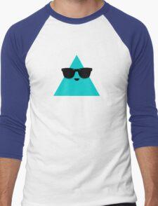Cool Triangle Men's Baseball ¾ T-Shirt