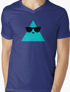 Cool Triangle Mens V-Neck T-Shirt