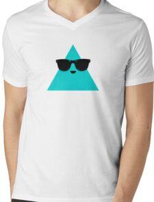 Cool Triangle Mens V-Neck T-Shirt