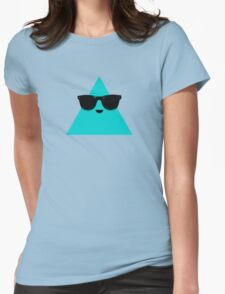 Cool Triangle Womens Fitted T-Shirt