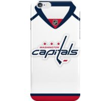 Washington Capitals Away Jersey iPhone Case/Skin
