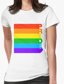 Gay Pride Womens Fitted T-Shirt