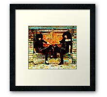 21ST CENTURY LAVERNE AND SHIRLEY Framed Print