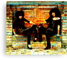 21ST CENTURY LAVERNE AND SHIRLEY Canvas Print
