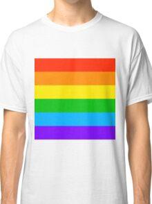 Gay Rainbow Pride Classic T-Shirt