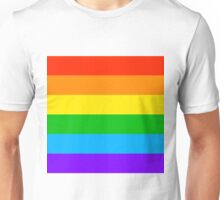 Gay Rainbow Pride Unisex T-Shirt