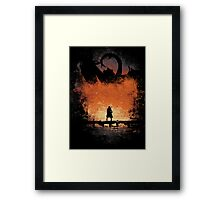 I am FIRE! Framed Print