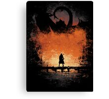 I am FIRE! Canvas Print