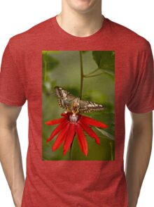 Clipper Butterfly Tri-blend T-Shirt