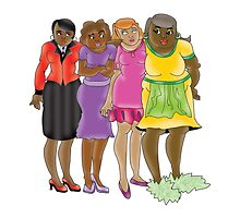 Mom And The Girls~(C) by Lisa Michelle Garrett