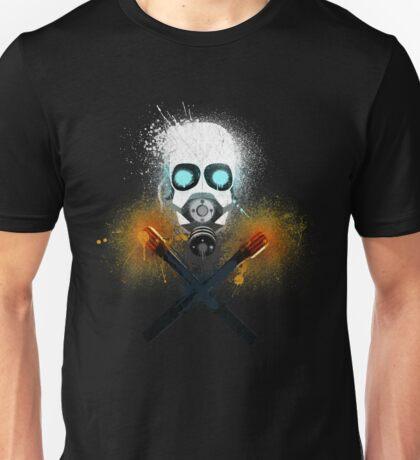Combine Splatter Grunge Unisex T-Shirt
