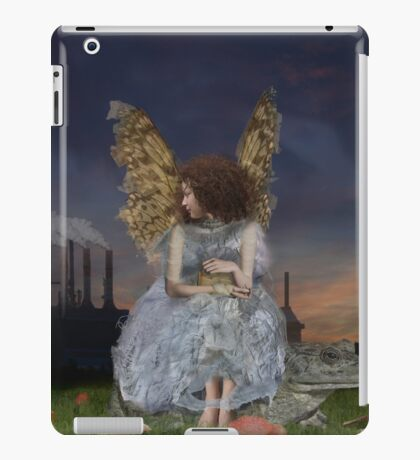 Angel Of The Guarded Nights iPad Case/Skin