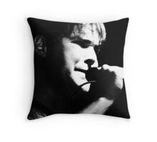 HR- B&W Throw Pillow