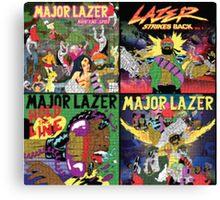 Major Lazer Canvas Print