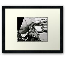 weight of the world Framed Print