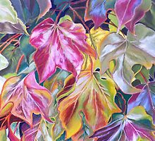 Stunning array of leaf colours by ArtbyInese2015