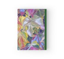 Stunning array of leaf colours Hardcover Journal
