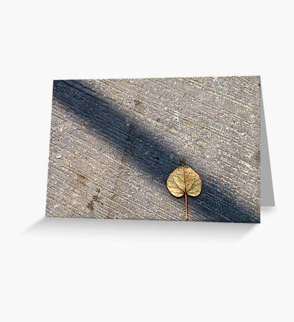Hidden leaf Greeting Card