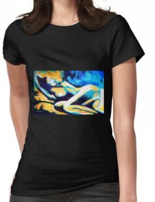 """""""Warm heart of desire"""" Womens Fitted T-Shirt"""
