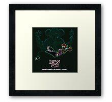 Major Lazer Music Framed Print