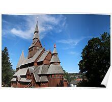 Stave Church Poster