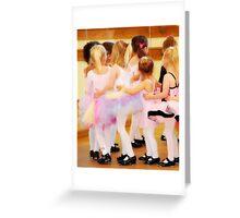 Tiny Dancers Greeting Card