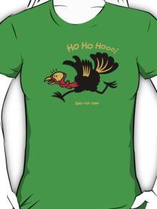 Christmas Turkey Running Away T-Shirt